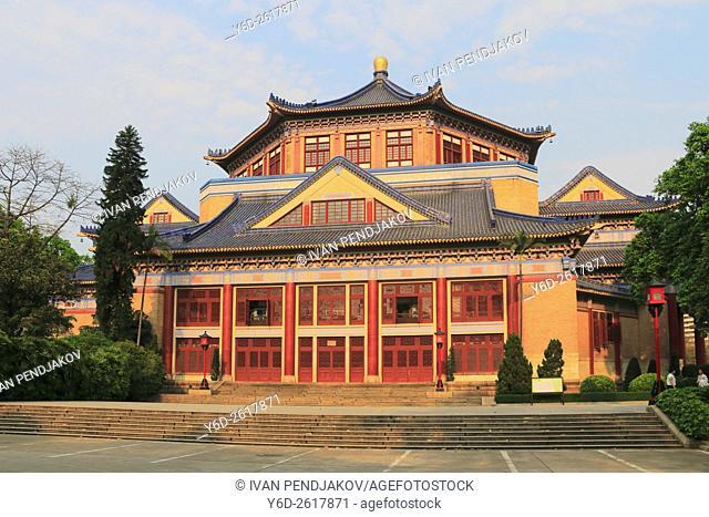 Sun Yat-sen Memorial Hall. Guangzhou, China