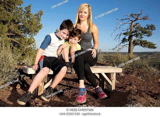 Oregon, Deschutes County, Bend, Family