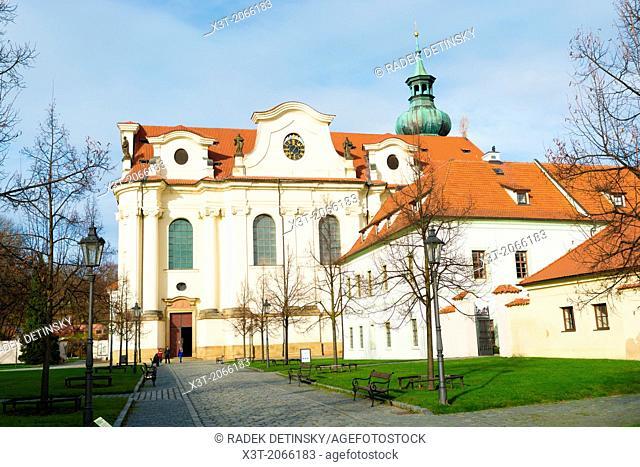 Brevnov monastery, Benedictine archabbey, the Brevnov district, Prague, Czech Republic
