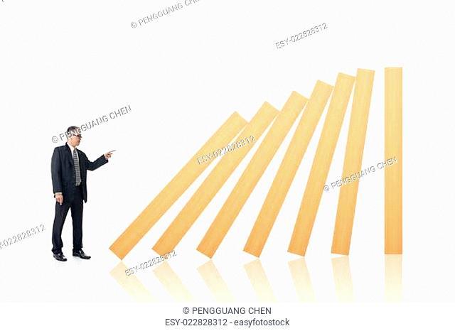 Make a domino effect