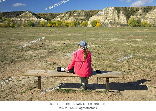 Prairie dog town, Theodore Roosevelt National Park-South Unit, North Dakota