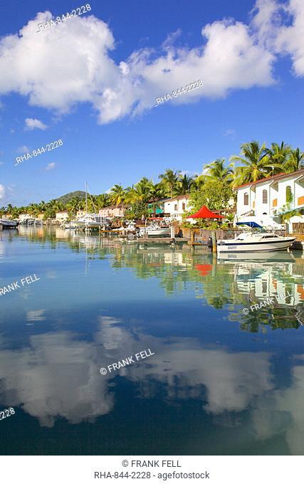 Marina, Jolly Harbour, St. Mary, Antigua, Leeward Islands, West Indies, Caribbean, Central America