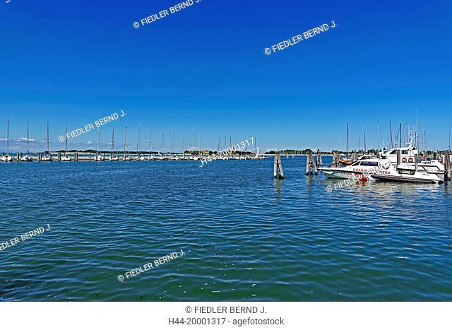 Chioggia, yacht harbour, sports boat harbour