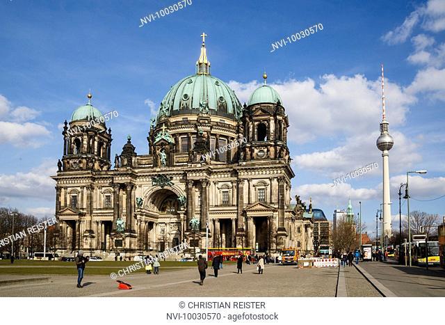 Berlin Cathedral, Lustgarten, Mitte, Berlin