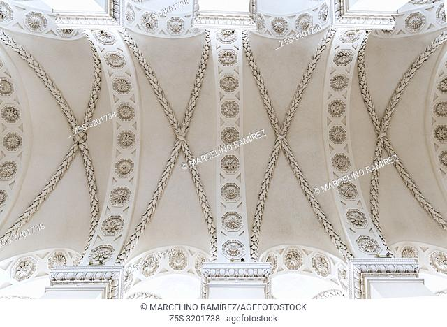 Ceiling, Cathedral Basilica of St Stanislaus and St Ladislaus of Vilnius is the main Roman Catholic Cathedral of Lithuania