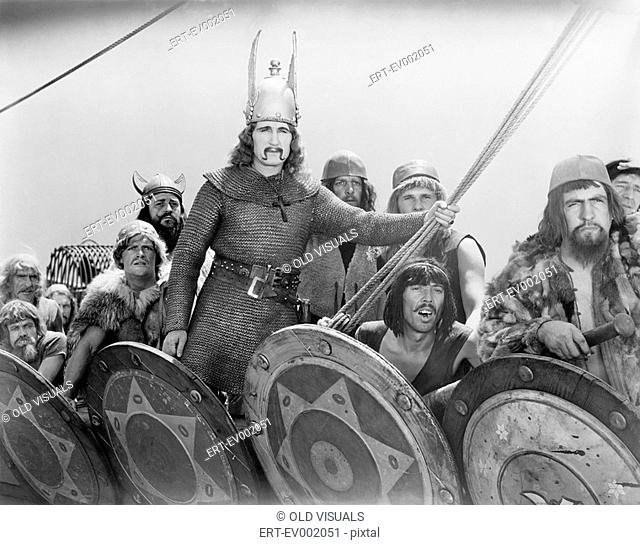 VIKING WARRIORS All persons depicted are not longer living and no estate exists Supplier warranties that there will be no model release issues