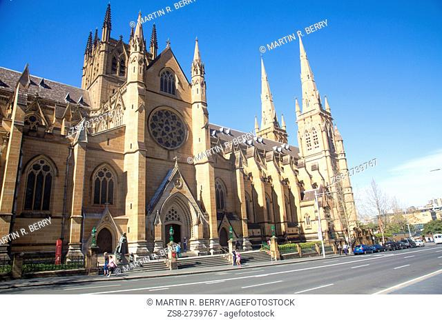 St Marys Cathedral in Sydney,Australia