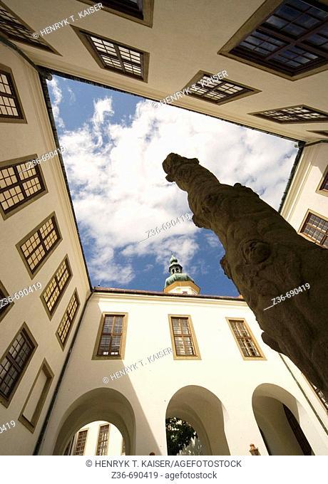 Czech Republic Mikulov city Castle
