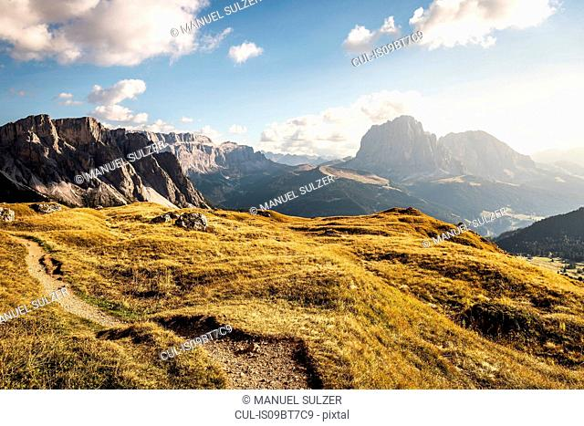 Natural preserve Puez-Geisler, Geislergruppe, Dolomites, Trentino-Alto Adige, Italy