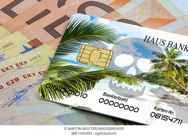 Credit card, holiday abroad, danger of being abused by con artists