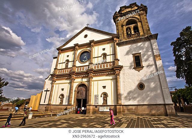 Church of Our Lady of Health, Basilica de Nuestra Señora de la Salud, Pátzcuaro, state of Michoacán, Mexico, Central America