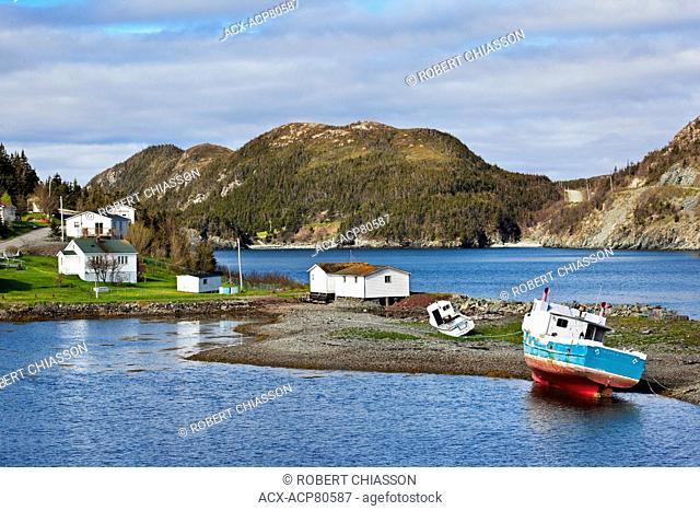 Small coastal town of Port au Bras, north of Burin, Newfoundland