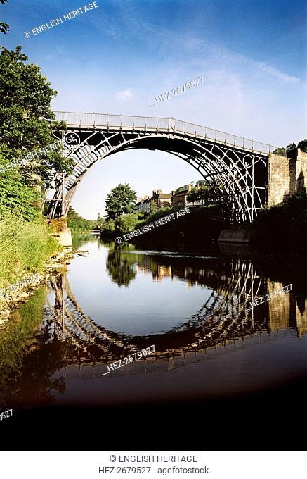 Iron Bridge, Ironbridge Gorge, Shropshire, c1980-c2017. Artist: Historic England Staff Photographer
