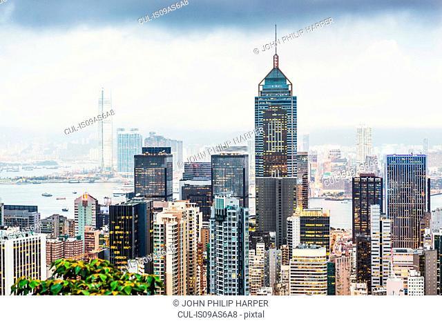 Skyline, Hong Kong, China