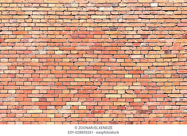 Background from a red brickwall