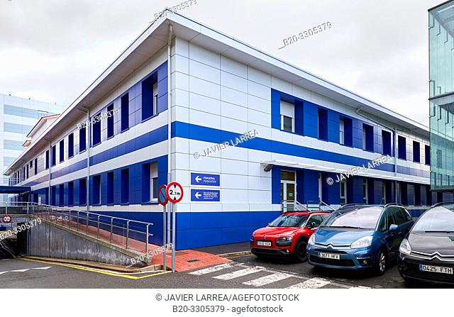 Psychiatry Building, Hospital Donostia, San Sebastian, Gipuzkoa, Basque Country, Spain
