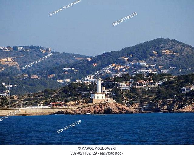 Lighthouse in Ibiza Town