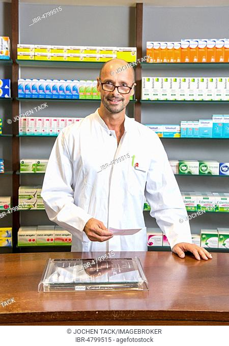 Pharmacy, Pharmacist, Portrait, Germany