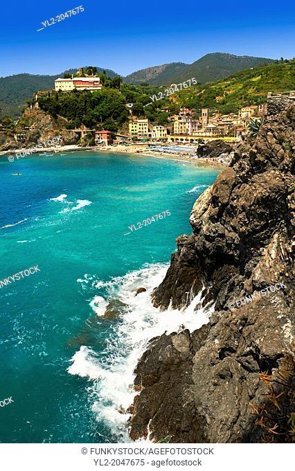 Monterosso al Mare, Cinque Terre National Park, Liguria, Italy