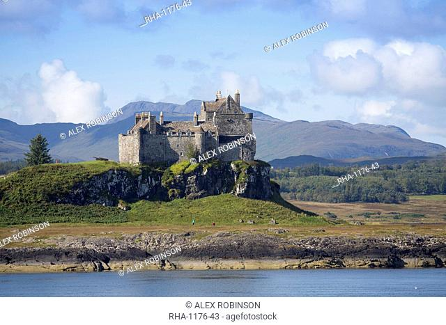 Duart Castle, Mull, Inner Hebrides, Scotland, United Kingdom, Europe