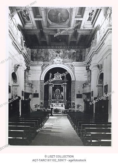Lazio Viterbo Caprarola S. Maria della Consolazione, this is my Italy, the italian country of visual history, Post-medieval Architecture