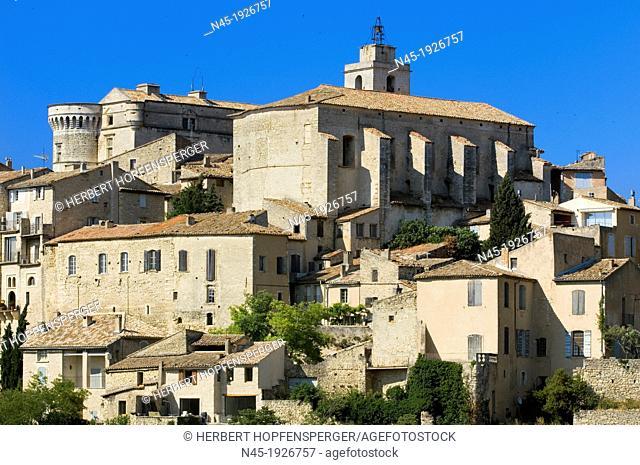 Gordes; Center; Hill Village; Luberon; Provence; France