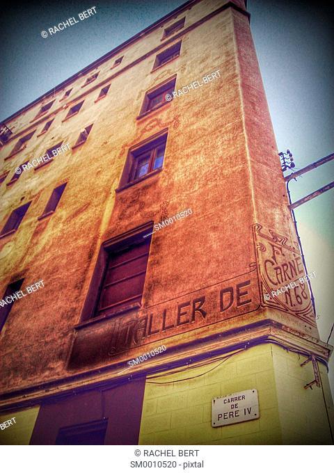 22@, Urban Scene, Barcelona, Catalonia