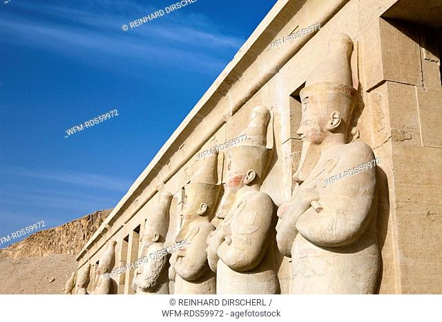 Queen Hatshepsut Statues, Luxor, Egypt
