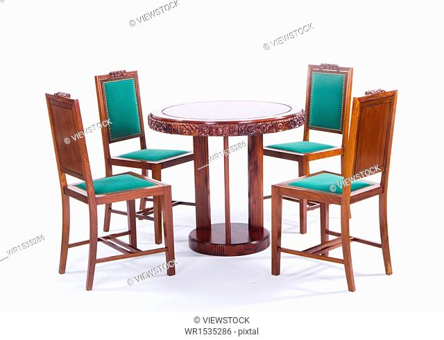 Chinese tables and chairs