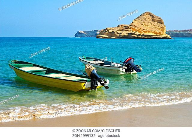 Qantab beach, Muscat, Sultanat Oman / Qantab beach, Sultanate of Oman