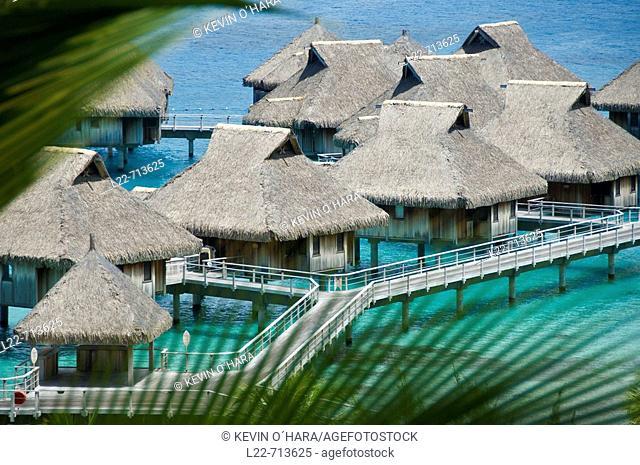 Bora-Bora Nui Resort. Bora-Bora. Islands in the Windward. Archipelago of Society Islands. Southern Pacific Ocean. French Polynesia