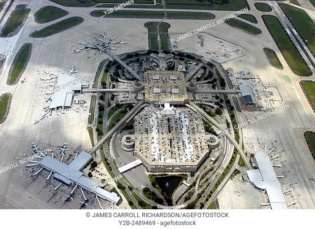 Aerial of Tampa International Airport Tampa Florida