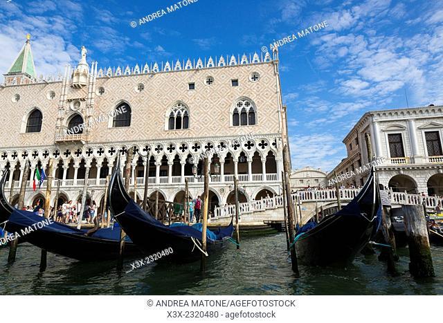 Doge's Palace. Saint Mark's square. Venice, Italy