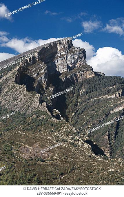 Anisclo canyon in Huesca, Aragon pyrenees, Spain
