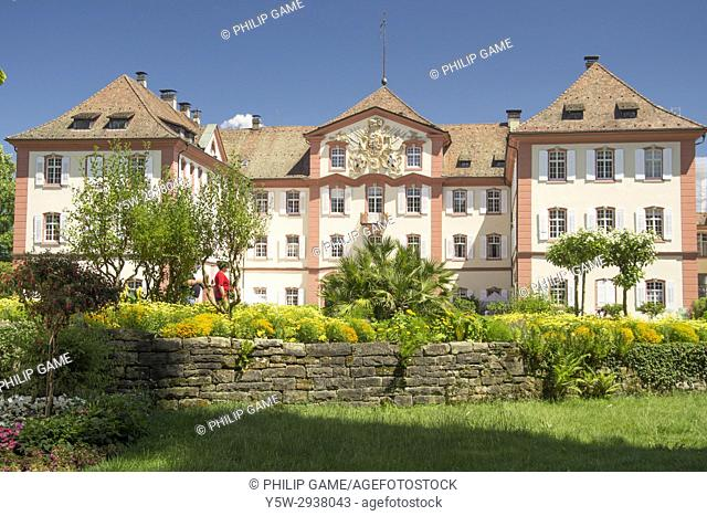 Schloss Mainau, set in its garden estate on Mainau Island, Lake Constance (Bodensee), southern Germany