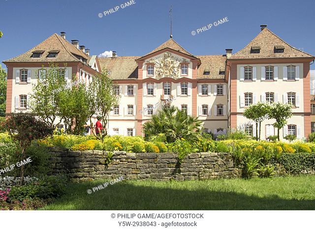 Schloss Mainau, set in its garden estate on Mainau Island, Lake Constance (Bodensee), southern Germany