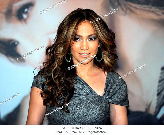 A file picture shows the US actress and singer Jennifer Lopez during a photocall for the release of her film 'The Back-Up Plan' in Cologne, Germany