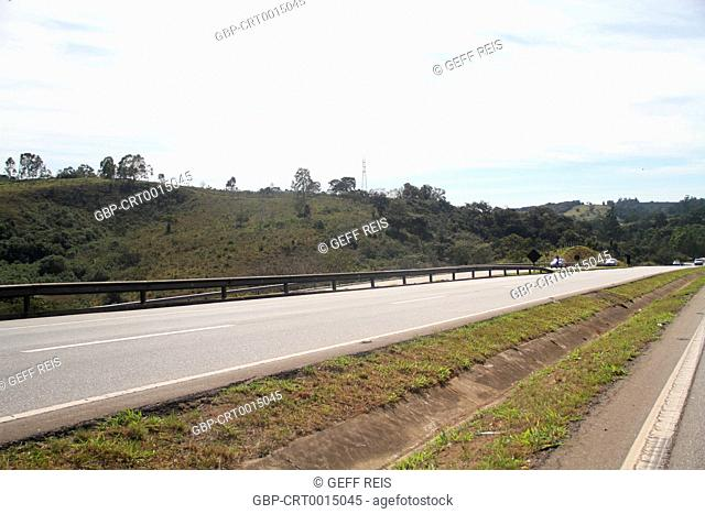 Southeast region; Highway Fernao Dias; Brazil
