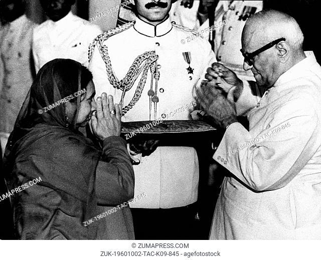 Oct. 2, 1960 - London, England, U.K. - Varahagiri Venkata Giri known as V.V. GIRI served as the fourth President of the Republic of India from 1969 to 1974