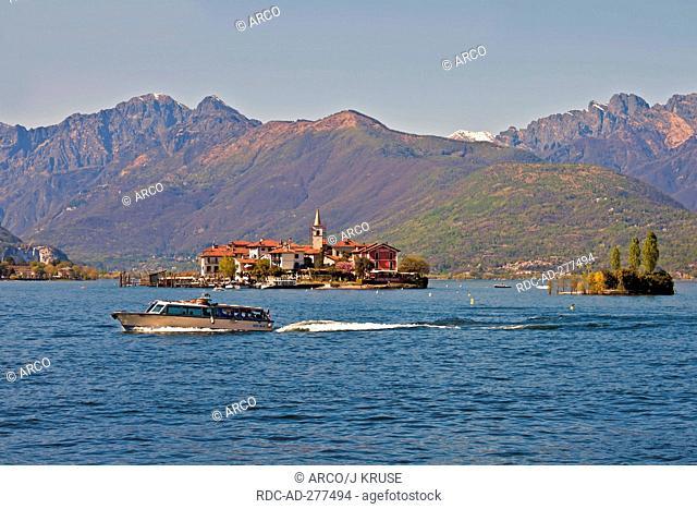 Isola dei Pescatori, Lago Maggiore, Borromean Islands, Piedmont, Italy / Fishermen\'s Island, Isola Superiore