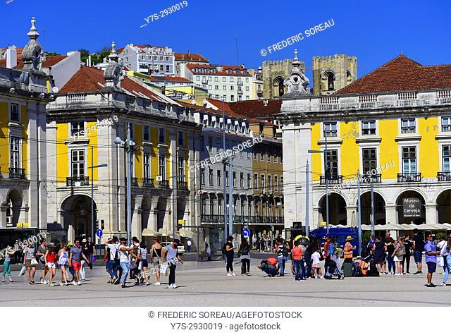 Praça do Comercio, Square in Lisbon, Portugal