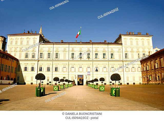 Royal Palace, Piazza Castello, Turin, Piedmont, Italy