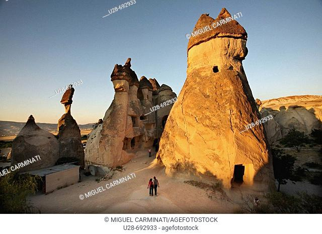 Fairy Chimneys, Devrent Valley, Zelve. Cappadocia, Turkey