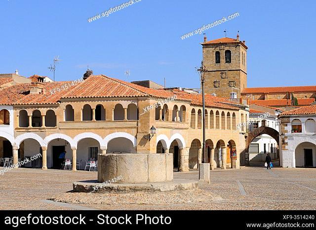 Garrovillas de Alconétar. Cáceres province. Extremadura. Spain