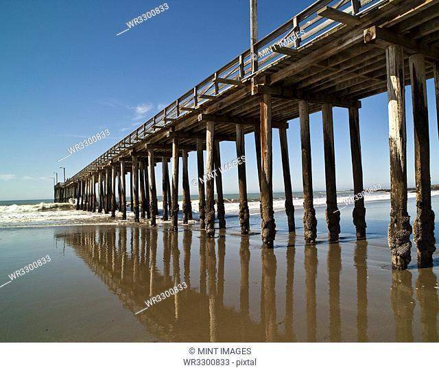 Boardwalk, Cayucos, California