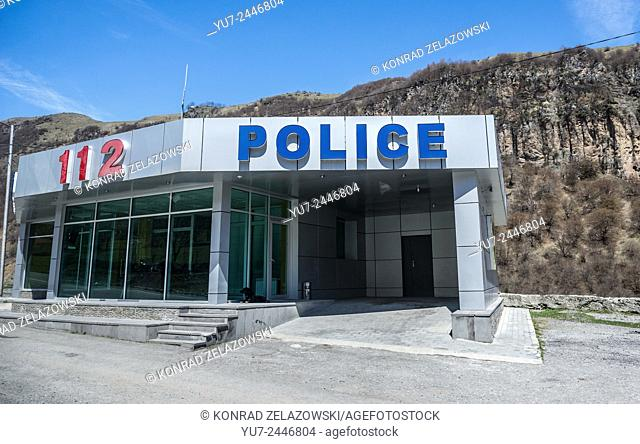 Police station in northern part of Georgia