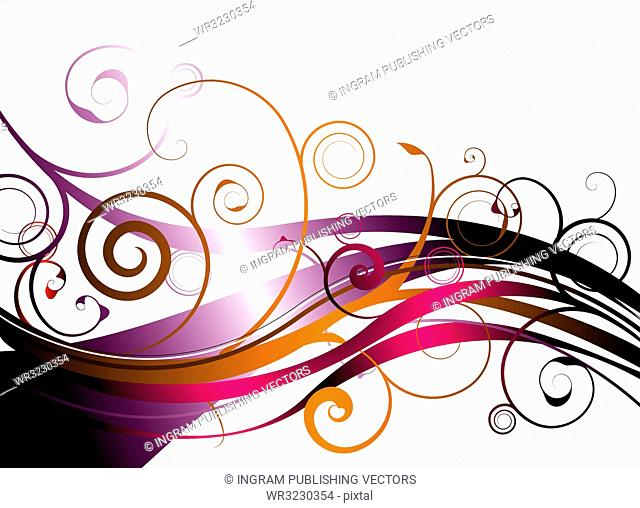 explosion of floral color ideal as a background or desktop