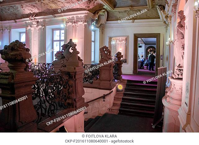 Palais Sylva Taroucca in Prague, Czech Republic, October 20, 2016. (CTK Photo/Klara Foitlova)