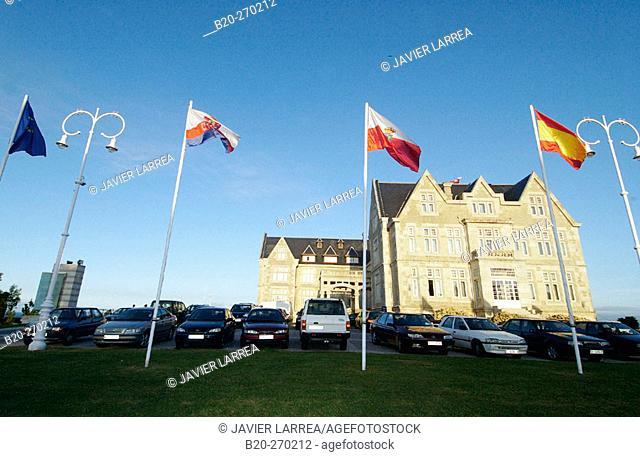 Universidad Internacional Menéndez Pelayo. Palacio de la Magdalena. Santander. Cantabria. Spain