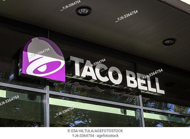 Taco bell sign in Lappeenranta, Finland